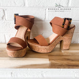 Just Between Us Block Heel - The Wooden Hanger Boutique