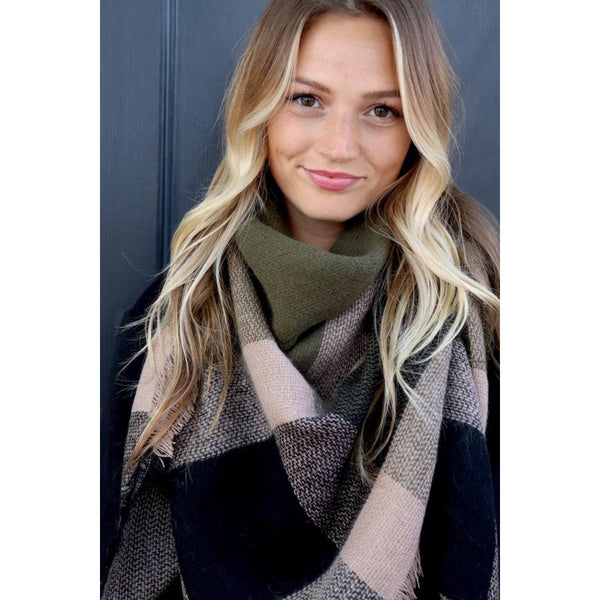Winter is Near Blanket Scarf