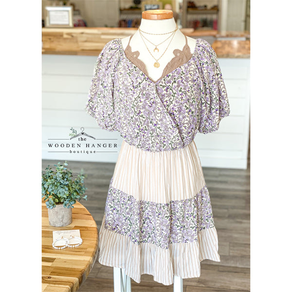 Lavender Meadows Dress