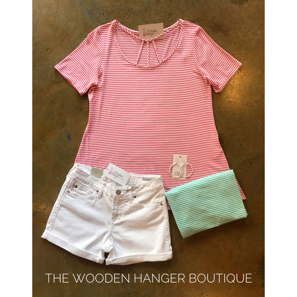 Carried Away Cage Front Top - The Wooden Hanger Boutique