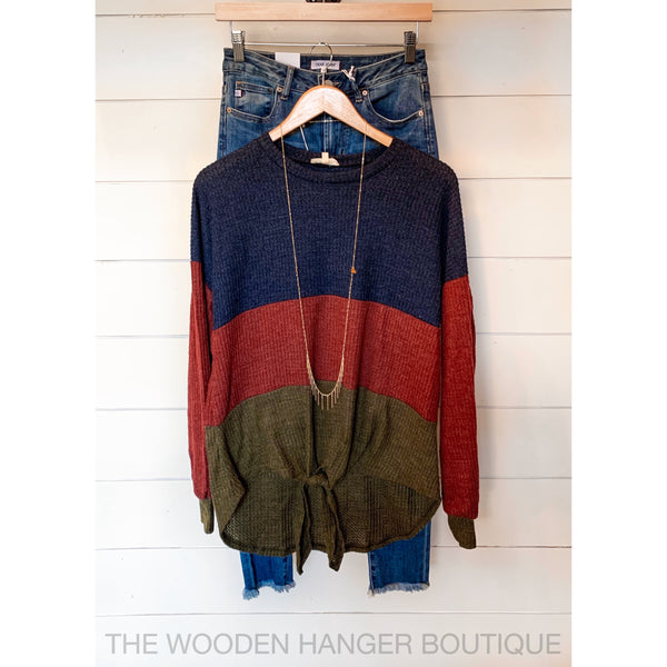 In the Game Sweater - The Wooden Hanger Boutique