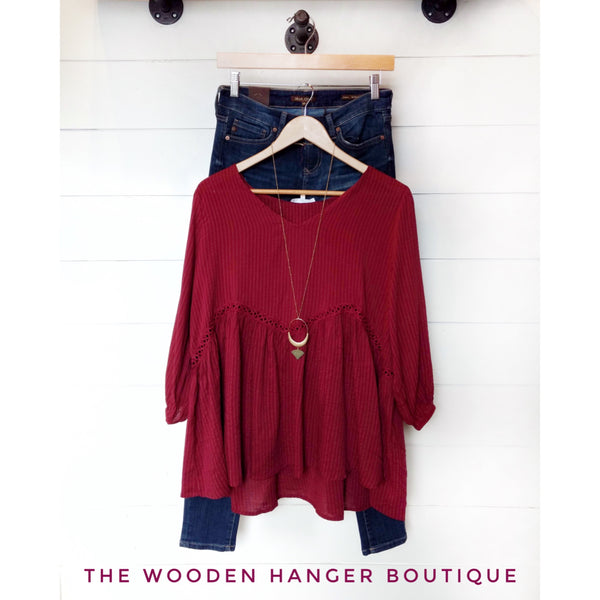 CURVY Very Merry Christmas Top - The Wooden Hanger Boutique