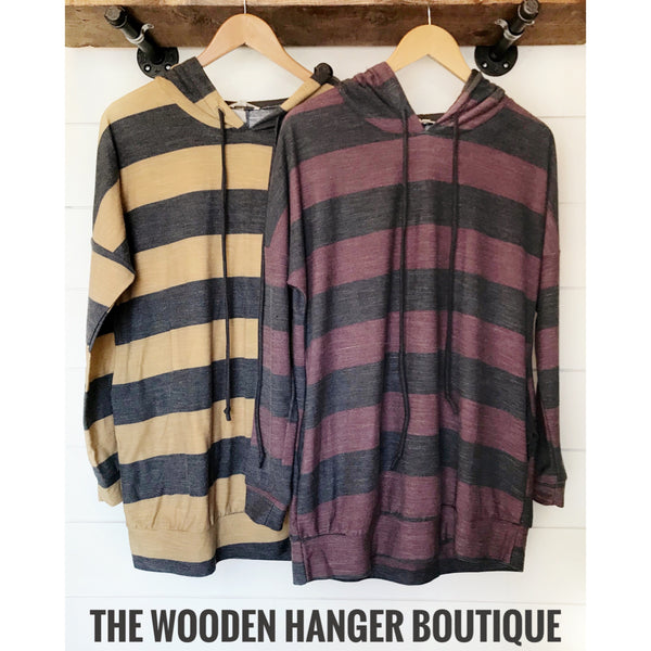 Keep Me Warm Hooded Sweatshirt - The Wooden Hanger Boutique