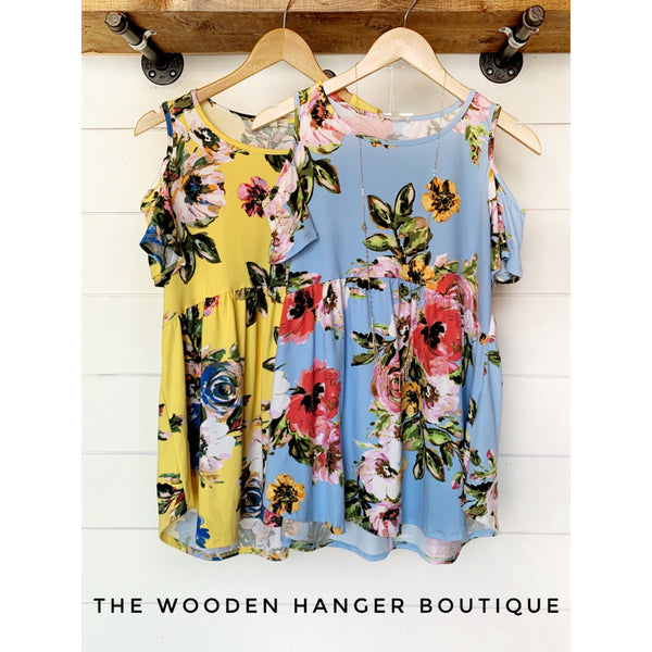 Hand to Hold Floral Top