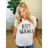 Boy Mama Tee - The Wooden Hanger Boutique