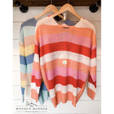 Sherbet Delight Sweater - The Wooden Hanger Boutique