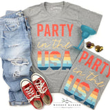 Party in the USA Tee - The Wooden Hanger Boutique