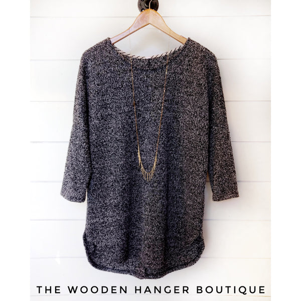CURVY Every Little Thing Sweater - The Wooden Hanger Boutique