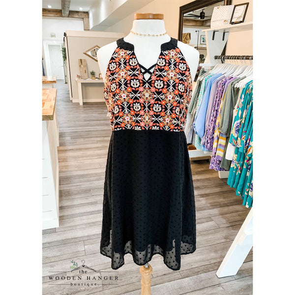 Peachy Keen Dress - The Wooden Hanger Boutique