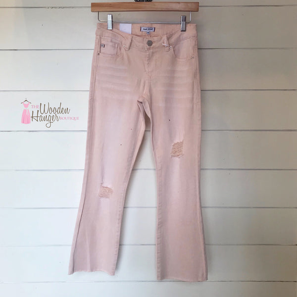 Candice Cropped Flare, Bitter Sweet - The Wooden Hanger Boutique