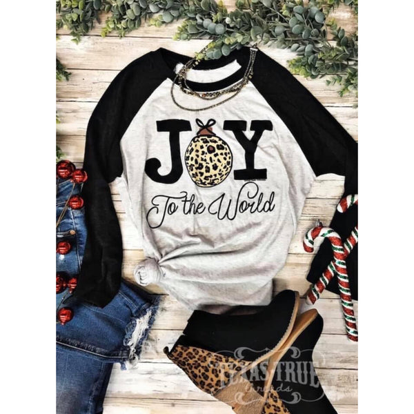 Joy to the World Tee - The Wooden Hanger Boutique