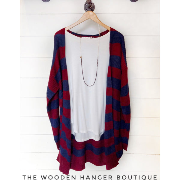 CURVY Thought Of You Cardigan - The Wooden Hanger Boutique
