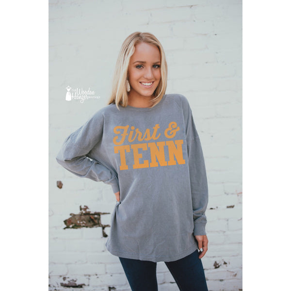 First & Tenn Long Sleeve - The Wooden Hanger Boutique