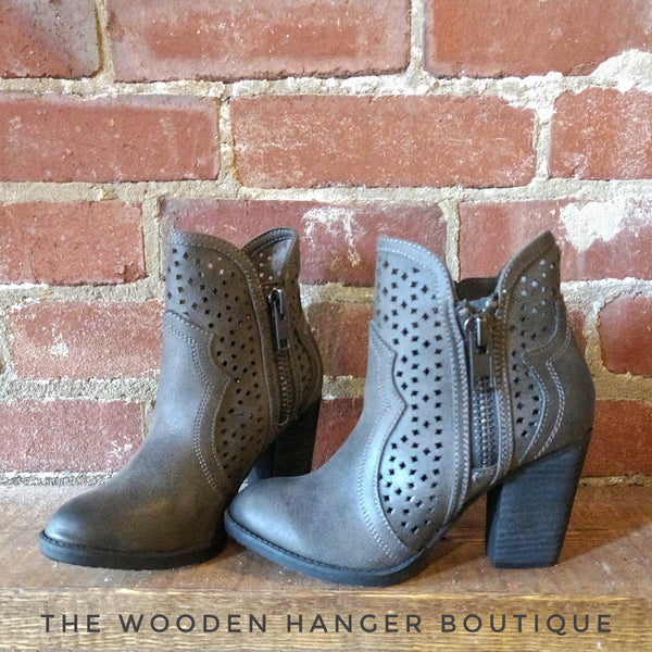 Walking Into Winter Booties - The Wooden Hanger Boutique