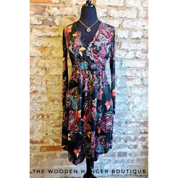 CURVY Your Love Is A Song Dress - The Wooden Hanger Boutique