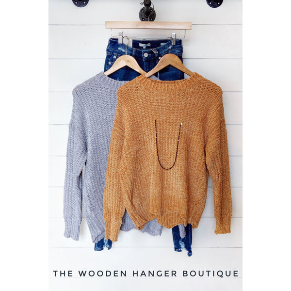 Keep On Moving Sweater - The Wooden Hanger Boutique