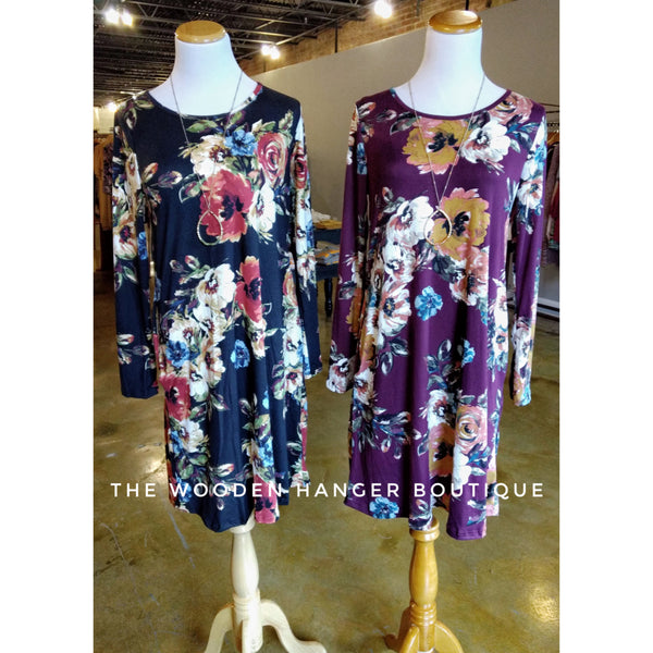 Wrapped In Love Floral Dress