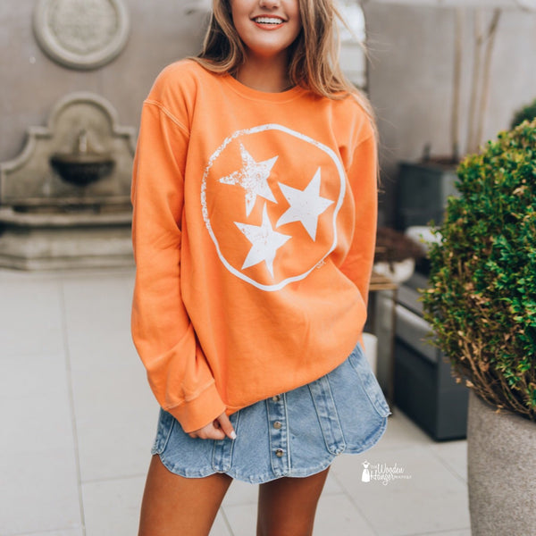 Tristar Orange Sweatshirt