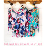 Cross My Mind Top - The Wooden Hanger Boutique