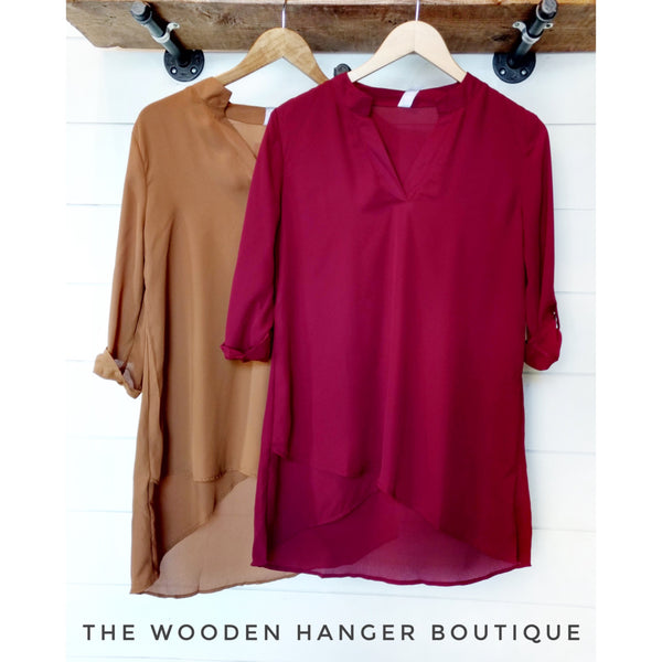 Born To Love Print Top - The Wooden Hanger Boutique