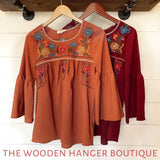 Favorite Thanksgiving Day Top - The Wooden Hanger Boutique