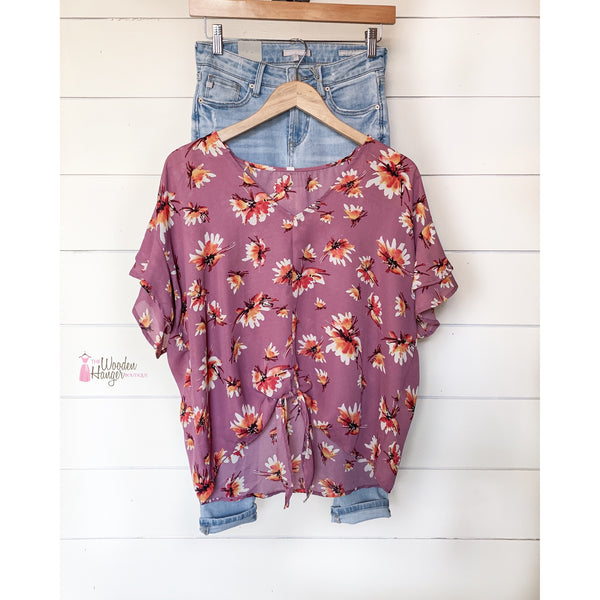 Love You Most Floral Top