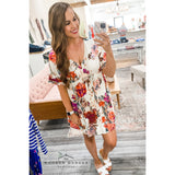 Flirty and Floral Dress