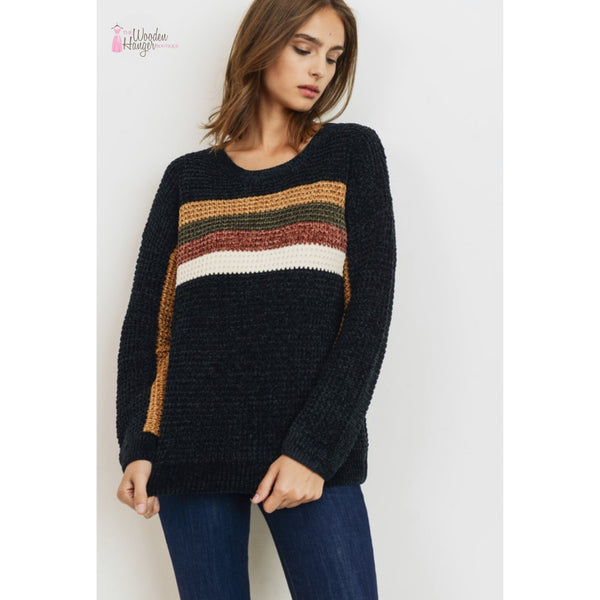 Better Together Chenille Sweater