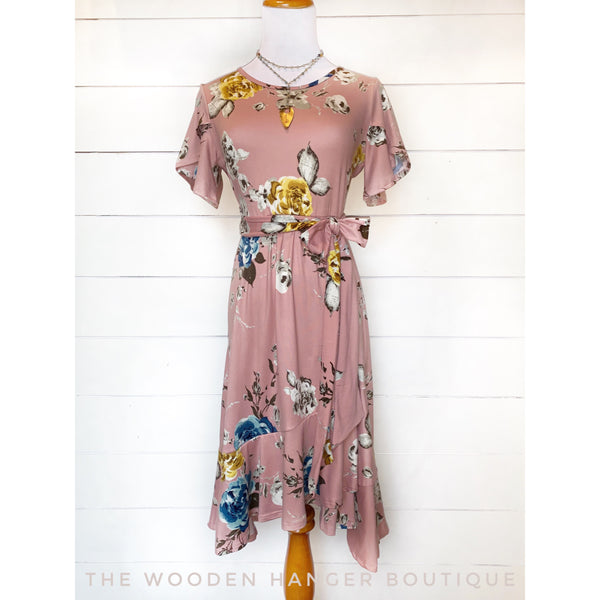 In Full Bloom Dress - The Wooden Hanger Boutique