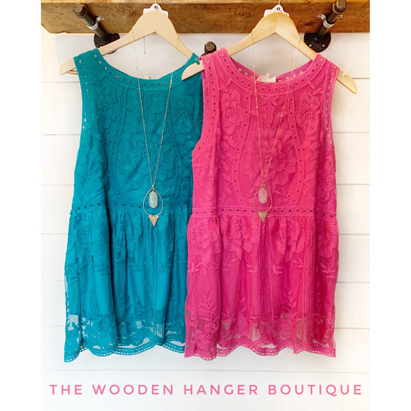 All At Once Top - The Wooden Hanger Boutique