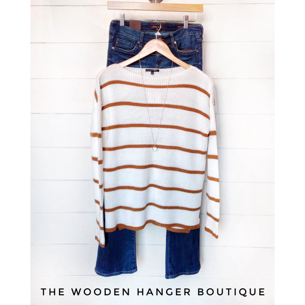 Edge Of Seasons Sweater - The Wooden Hanger Boutique