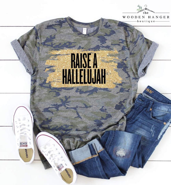 PREORDER: Raise A Hallelujah Tee - The Wooden Hanger Boutique