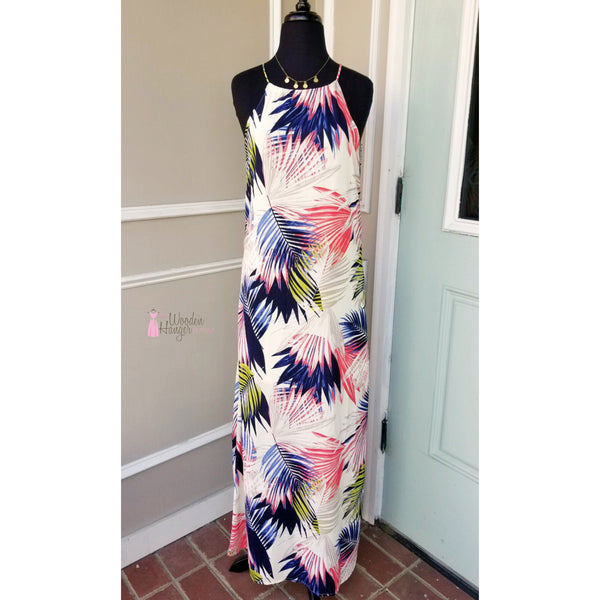 Ocean Boulevard Print Maxi - The Wooden Hanger Boutique