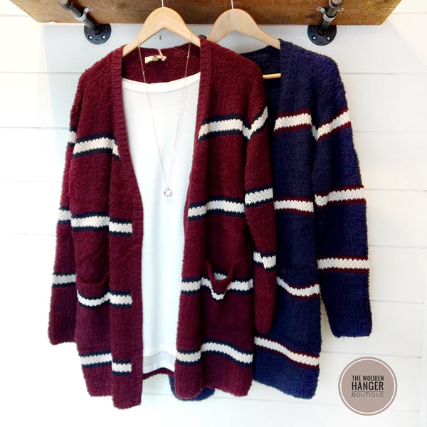 For The Win Cardigan - The Wooden Hanger Boutique
