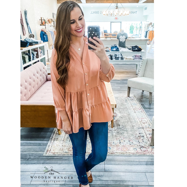 Spring Showers Top - The Wooden Hanger Boutique