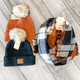 Fall Perfection Reversible Scarf