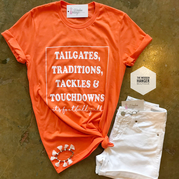 It's Football Y'all Tee - The Wooden Hanger Boutique