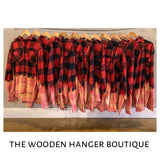 Lost in the Hayfield Flannel - The Wooden Hanger Boutique