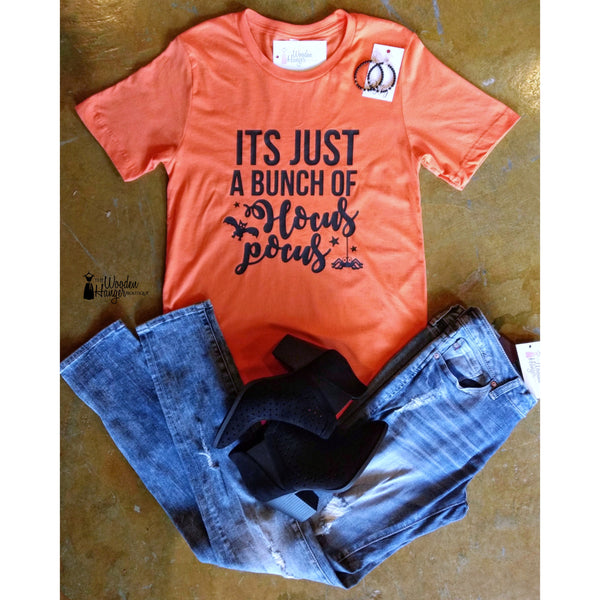 It's Just A Bunch Of Hocus Pocus Tee - The Wooden Hanger Boutique
