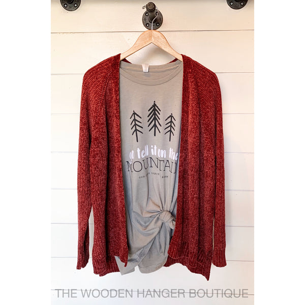 Hang Your Stockings Cardigan - The Wooden Hanger Boutique
