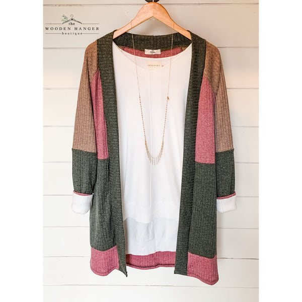 Hold on to Forever Cardigan - The Wooden Hanger Boutique