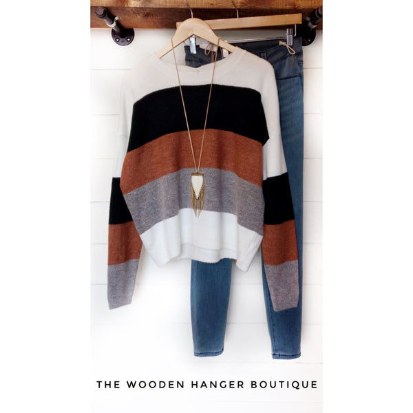 CURVY Fall In The South Sweater - The Wooden Hanger Boutique