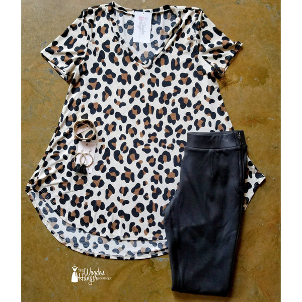 CURVY Animal Instinct Print Top - The Wooden Hanger Boutique