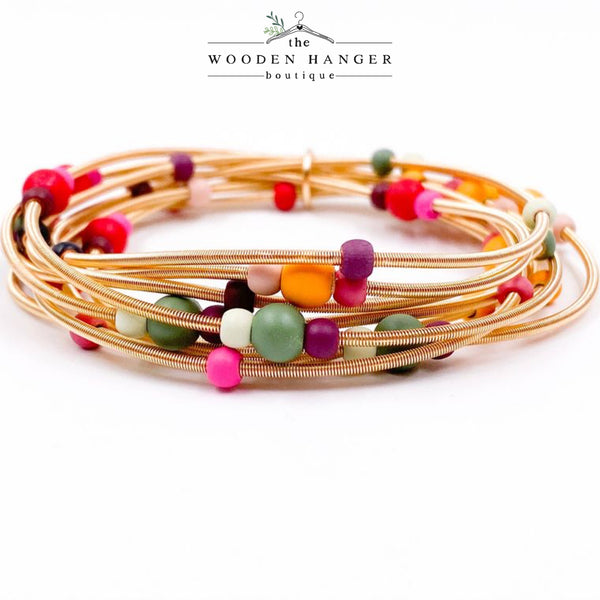 Confetti Stretch Bracelet - The Wooden Hanger Boutique