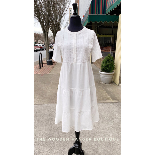 Going to the Chapel Dress - The Wooden Hanger Boutique