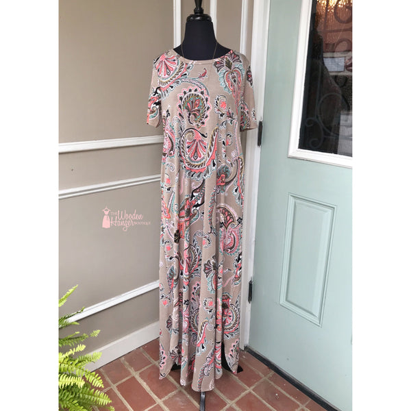 Wherever You Will Go Maxi Dress
