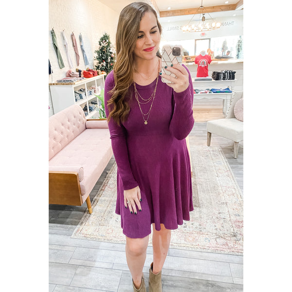 Plum Passion Dress