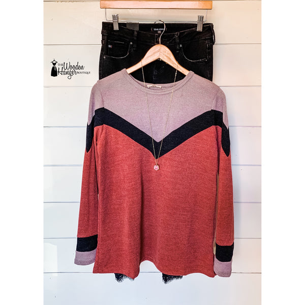 Seeing Double Sweater - The Wooden Hanger Boutique