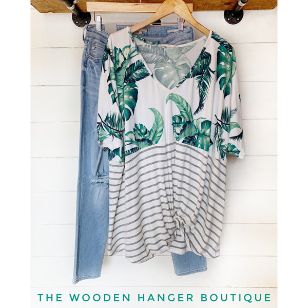 CURVY Take a Cruise Top - The Wooden Hanger Boutique