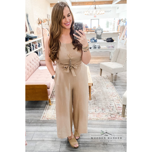 One Last Chance Jumpsuit - The Wooden Hanger Boutique